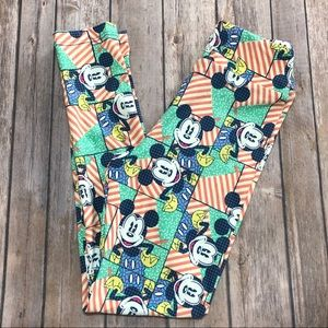 MICKEY! Tween LuLaRoe Disney Kids Leggings Mouse
